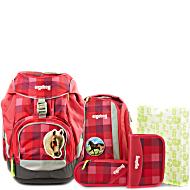 Рюкзак Ergobag Giddy-up BEAR с наполнением + светоотражатели в подарок