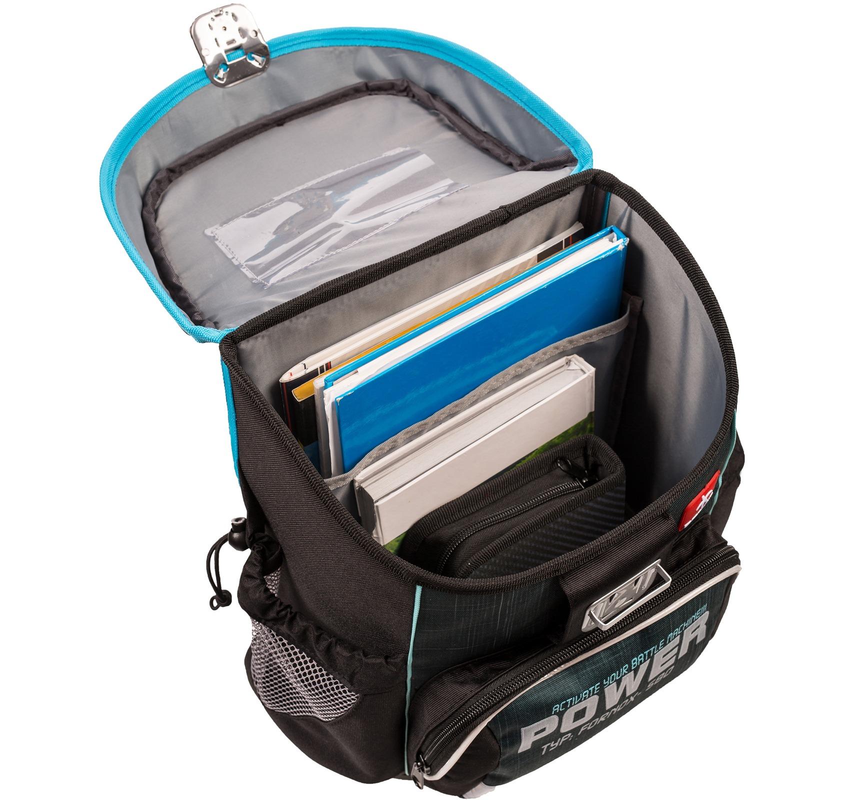 Ранец Belmil 405-33 MINI-FIT FOOTBALL + мешок и пенал + фломастеры, - фото 9