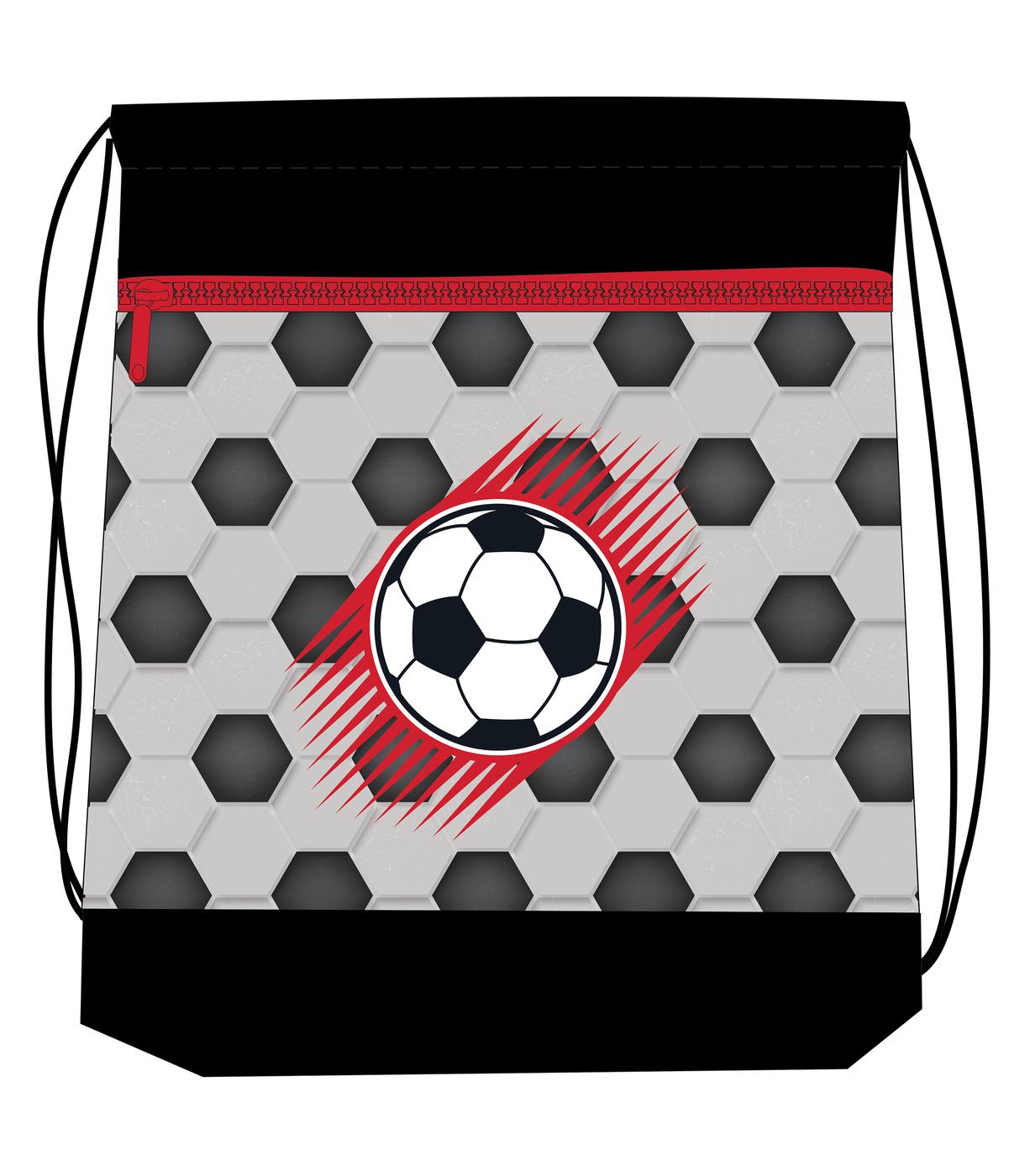 Ранец Belmil 405-33 MINI-FIT FOOTBALL + мешок и пенал + фломастеры, - фото 5