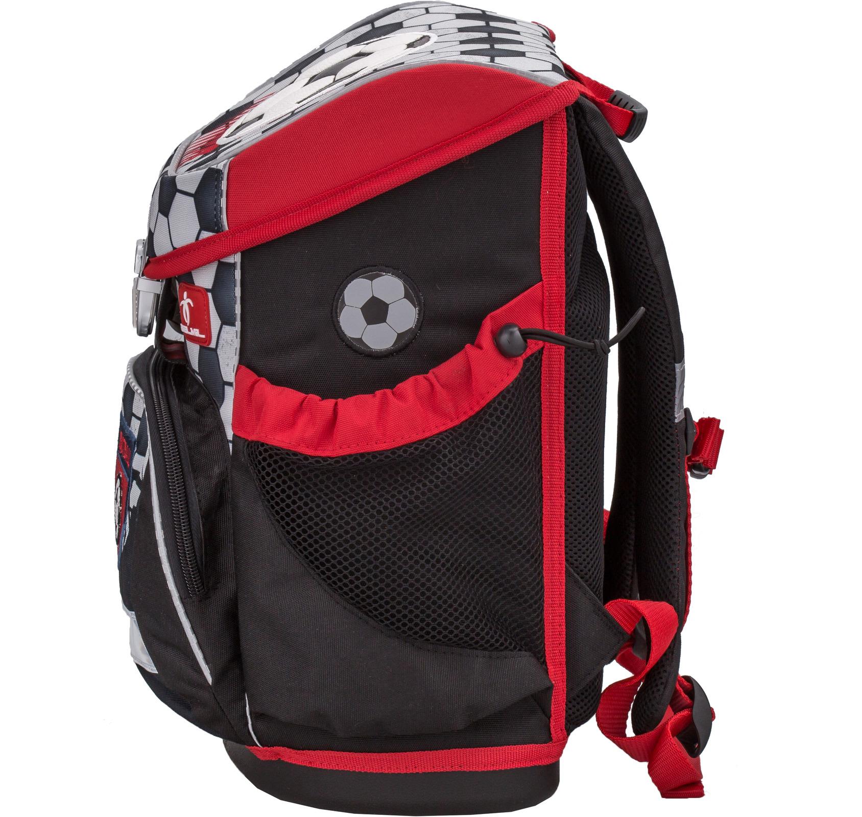 Ранец Belmil 405-33 MINI-FIT FOOTBALL + мешок и пенал + фломастеры, - фото 3