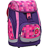 Ранец-рюкзак Belmil Comfy Pack 405-11/683 цвет Pink & Purple Harmony+ дождевик